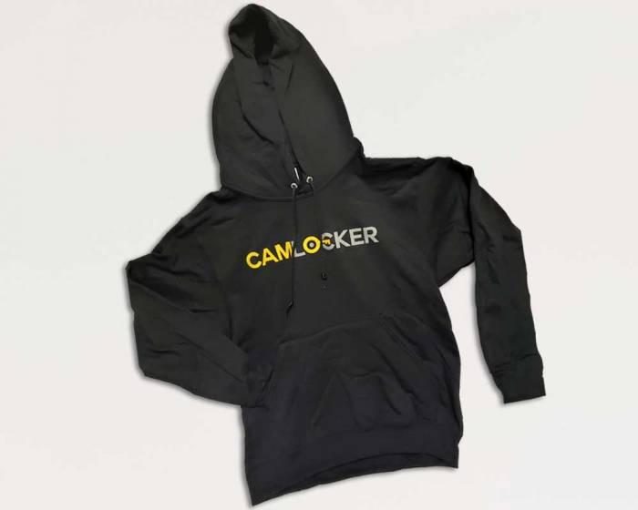 CamLocker Black Hoodie