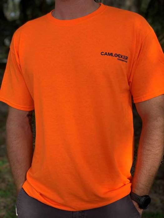 CamLocker Orange T-Shirt Front