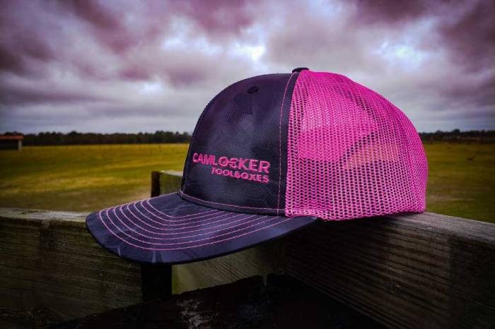 CamLocker Pink Ball Cap