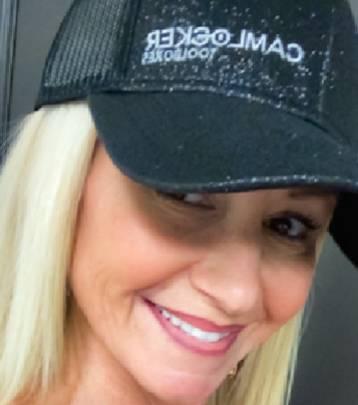 CamLocker - Camlocker Glitter Mesh Ponytail Hat
