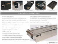 CamLocker - CamLocker S63LPFNMB 63in Crossover Truck Tool Box - Image 3