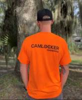 CamLocker Orange T-Shirt Back