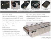 CamLocker - CamLocker S67LPRLMB 67in Crossover Truck Tool Box with Rail - Image 3
