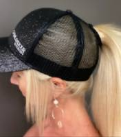 CamLocker - Camlocker Glitter Mesh Ponytail Hat - Image 2