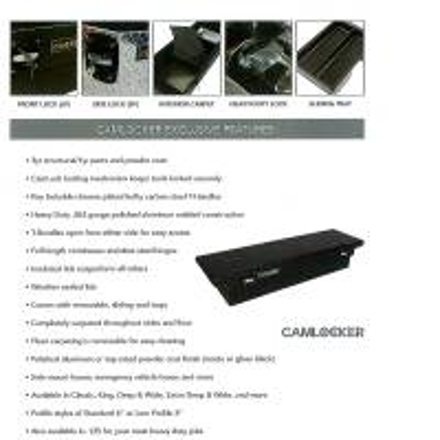 CamLocker - CamLocker S67RLMB 67in Crossover Truck Tool Box with Rail - Image 3