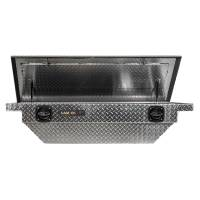 CamLocker - CamLocker S60LPBLRL 60in Crossover Tool Box With Rail For Jeep Gladiator JT Polished Aluminum - Image 2